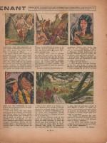 « Mlle Lieutenant » dans Fillette n° 76 (25/12/1947).