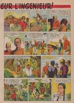 «Bon Voyage monsieur l'ingénieur » dans Bernadette n°220 (11/09/1960).