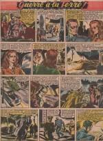 « Guerre à la terre T2 » dans Coq hardi n° 85 (06/11/1947).