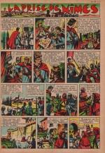 « La Prise de Nîmes » dans Cœurs vaillants n° 18 de 1960.