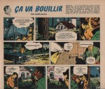 «Ça va bouillir» dernière pagedans Pilote n°113 (21/12/1961).