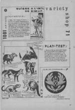 «Variety Shop jeux» dans Bonanza n°45 (02/1972).
