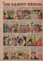 «Un contrat génial» dans Fripounet et Marisette n°28 (13/07/1958).