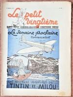 Couvertures du Petit Vingtième parues au lancement de la prépublication, les 8 et 15 avril 1937.