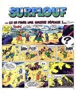 """L'une des dernières histoires de Surplouf (""""...Ça va faire une grosse dépense !""""), dans Pif n° 425 en avril 1977)"""
