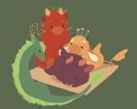 Des dragons-thé