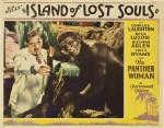 """Photogramme publicitaire extrait de """"L'Île du docteur Moreau"""" (Island of Lost Souls), film réalisé par Erle C. Kenton en 1932."""