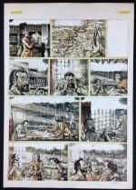 Planche originale de « Giuseppe Pignala ».