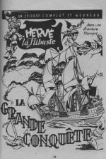 « Hervé la Flibuste » dans Sandor n° 10 (03/1966).