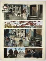 Panche originale de « La Costellazione del Cane ».