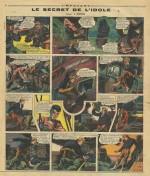 « Le Secret de l'idole » dans L'Épatant, en 1938.