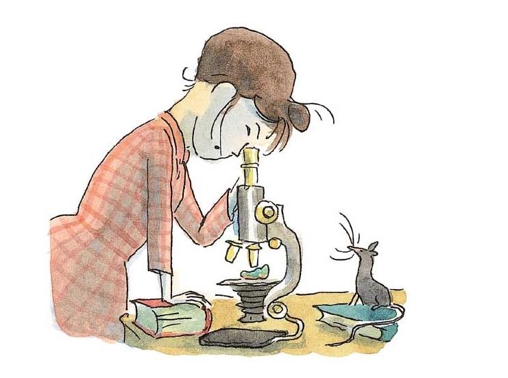 Miss Charity au microscope