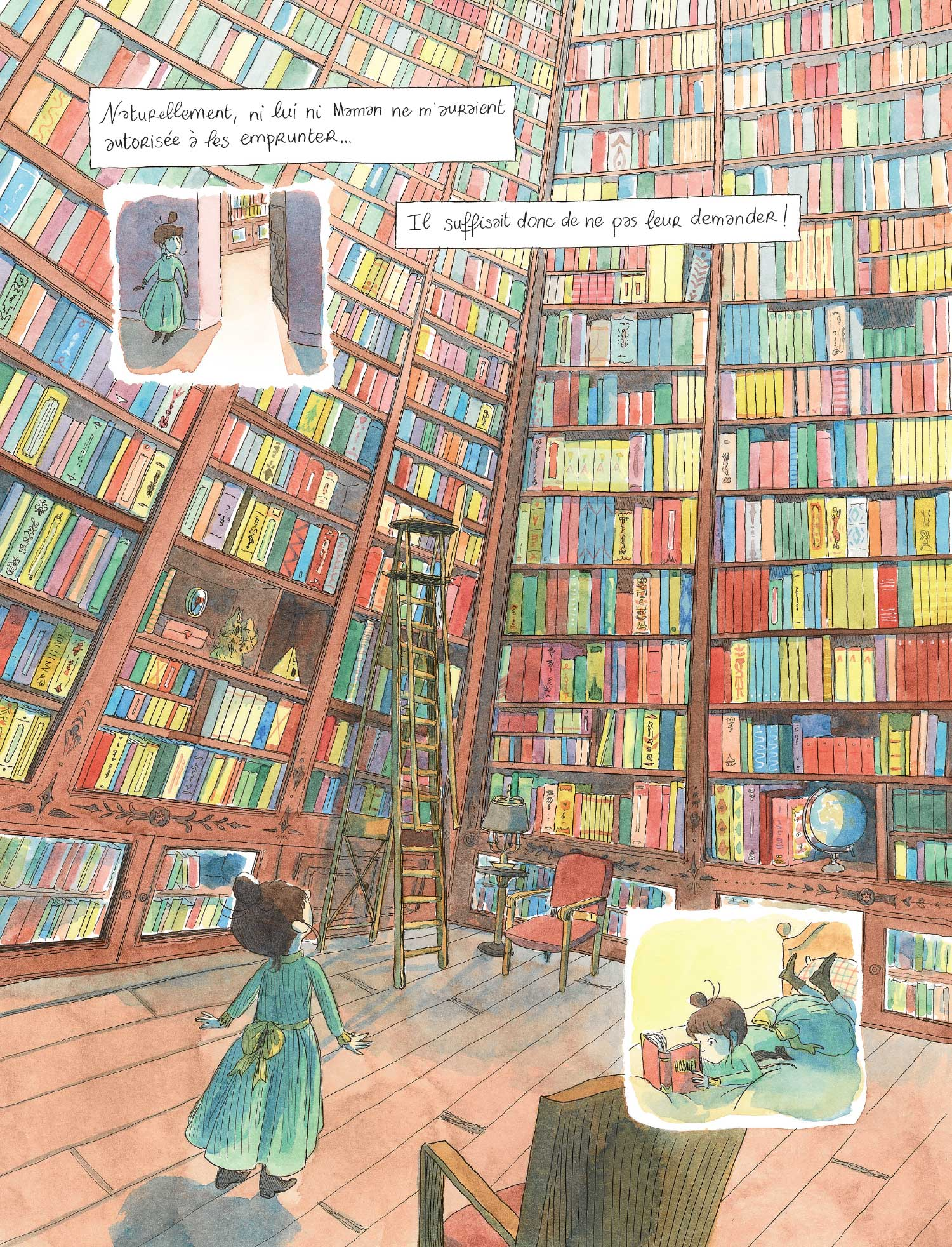 La bibliothèque de papa
