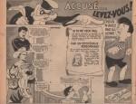 Page d'animation dans Cœurs vaillants n° 40 (04/10/1953).