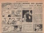 «Gontran» dans Cœurs vaillants n° 12 (22/03/1953).