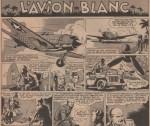 «L'Avion blanc» dans Cœurs vaillants n° 41 (11/10/1953).