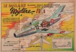 Fiche aviation dans Cœurs vaillants n° 16 (20/04/1958).