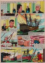 «La Bataille de Trafalgar» dans Cœurs vaillants n° 49 (05/12/1963).