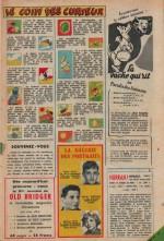 « Le Coin des curieux » dans Hurrah! n° 167 (29/12/1956).
