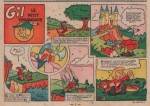 «Gil le petit troubadour» dans Lisette n° 11 (14/03/1954).
