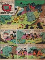 Première page de «Trompette» dans Femmes d'aujourd'hui n° 935 (04/04/1963).