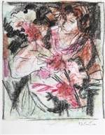 Une peinture de Pierre Duteurtre.