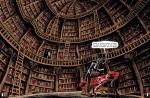 La bibliothèque du baron Mystère