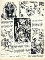 Planche originale du « Maître des eaux », l'un des fascicules pour Artima (signé Pierre Dute).
