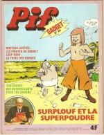 """L'unique couverture """"Surplouf"""" de Pif (n° 341 en 1975)"""