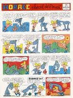 """La première planche d'""""Horace"""", dans Pif n° 71 (29 juin 1970)"""