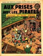 Pillul : Aux prises avec les pirates en 1946 (couverture et planche) : une première expérience humoristique dans le genre