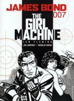 "Couverture pour ""The Girl Machine"" (Titan Books, 2nde série - T16, 2009)"