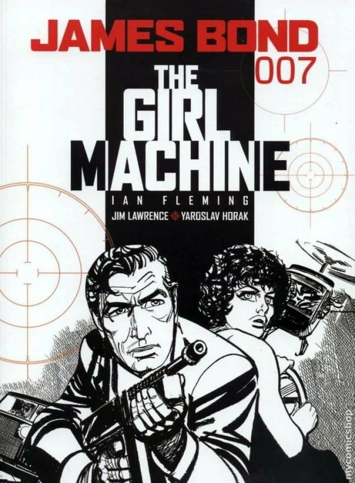 "Couverture pour ""The Girl Machine"" (Titan Books, 2nde série - T16, 2009)"