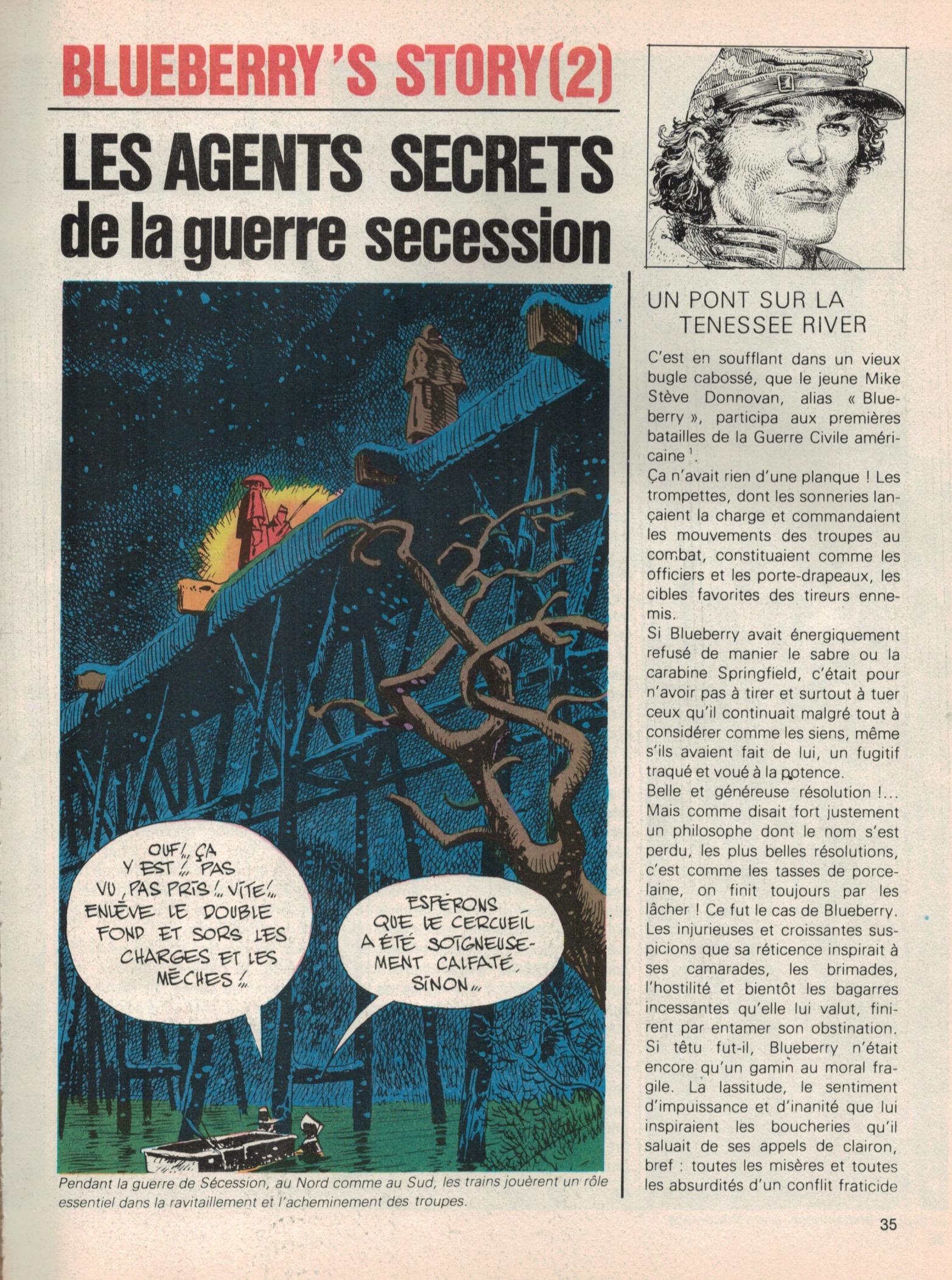 «Blueberry's Story» par Jean-Michel Charlier.