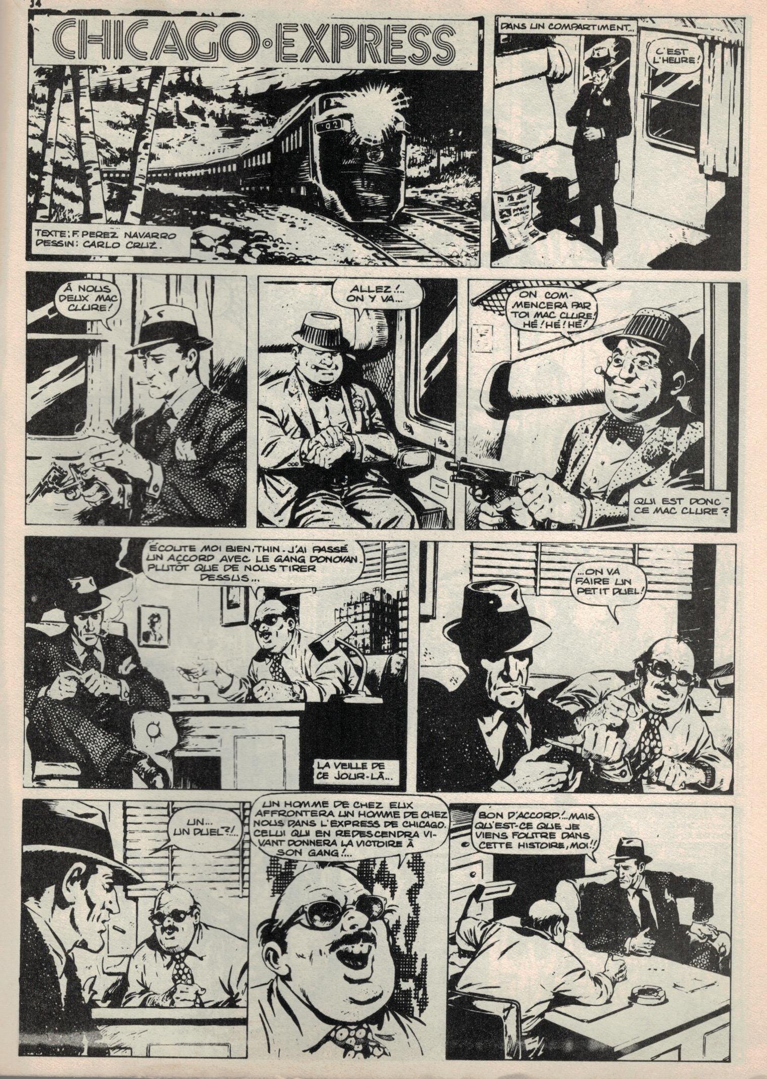 «Chicago-Express» de Carlo Cruz et Francisco Pérez Navarro.