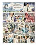 Autre essai de colorisation pour «Allô! D.M.A.» : le tome 1 de la série «Guy Lebleu»;