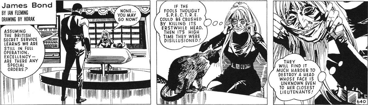 """Spectra, créée par les auteurs dans la première partie de l'adaptation de """"L'Espion qui m'aimait"""". en 1968"""