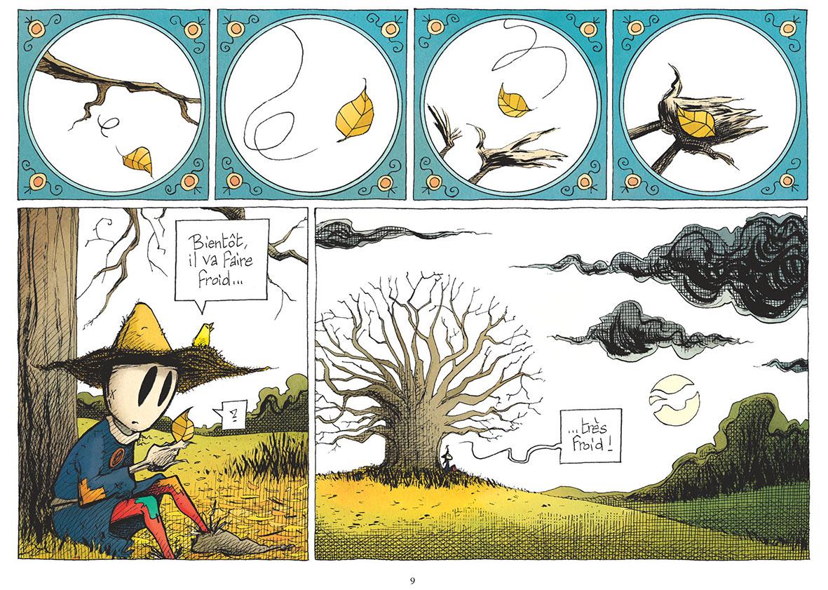 L'Émouvantail T 3 page 9