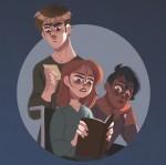 Antoine, Lya et Adèle