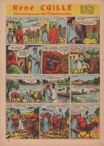 « René Caillé » dans Bernadette n° 249 (02/04/1961).