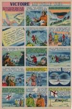 « Victoire au Pôle sud » dans L'Intrépide n° 352 (26/07/1956).
