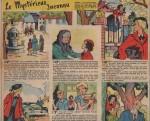 «Le Mystérieux inconnu» dans Âmes vaillantes n°10 (04/03/1956).