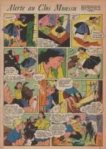 «Alerte au clos moussu» dans Bernadette n°153 (31/05/1959).