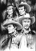 Tex vu par Giovanni Romanini.