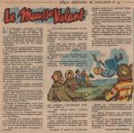« Le Mousse volant » dans Fripounet et Marisette n° 45 (08/11/1953).