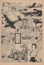 « Zette reporter : Zette au pays du mystère » dans Lisette n° 36 (05/09/1954).