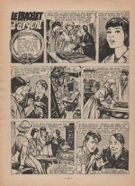 « Zette reporter : Le Bracelet d'argent » dans Lisette n° 21 (24/05/1959).