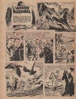 « Zette reporter : L'Affaire Rosabel » dans Lisette n° 10 (06/03/1960).