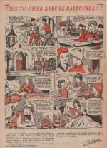 « Veux-tu jouer avec le pastoureau » — Fripounet et Marisette 28 (10-7-1960).