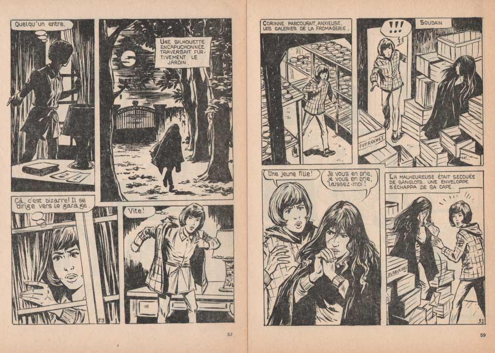 « Corinne et le bourru » dans Lisette magazine n° 53 (12/1968).